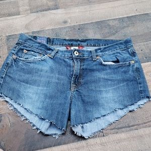 Lucky Brand Cut off Sweet and Low Shorts